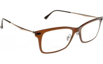 ray ban black glasses  ray-ban light ray rx7039